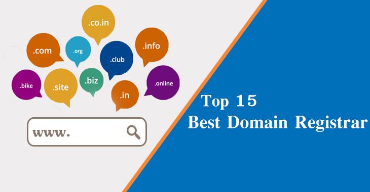Top 15 Best Domain Registrars 2019