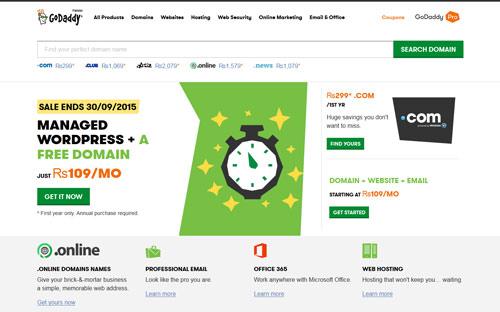 GoDaddy Excellent Domain Registrar 2019