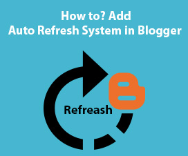 add auto refresh system in Blogger