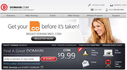 Domain.com Top Domain Registrar