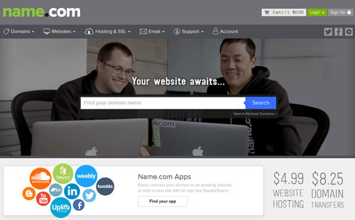 name.com best place to buy a domain name