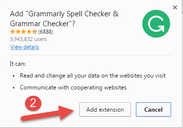 Install Grammarly Chrome Extension