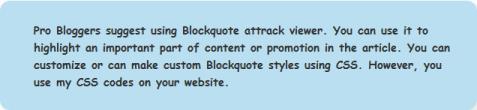 blockquote style exapme 5