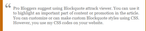 blogger blockquote css for blogger example 3