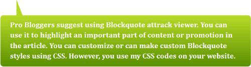 14 blockquote example