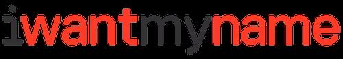 IWantMyName Review Logo