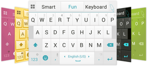 Ginger Keyboard App Themes
