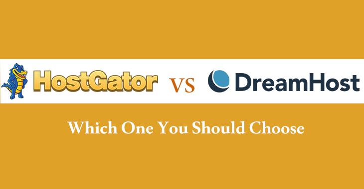 Hostgator or Dreamhost comparison