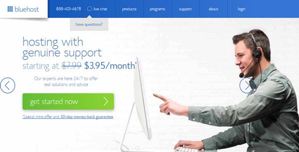 BlueHost linode similar services